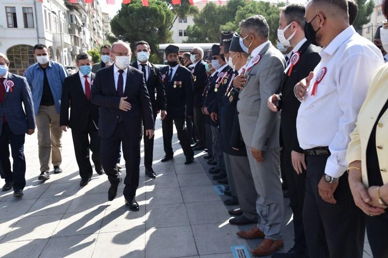 Manisa'da 19 Eylül Gaziler Günü Törenlerle Kutlandı